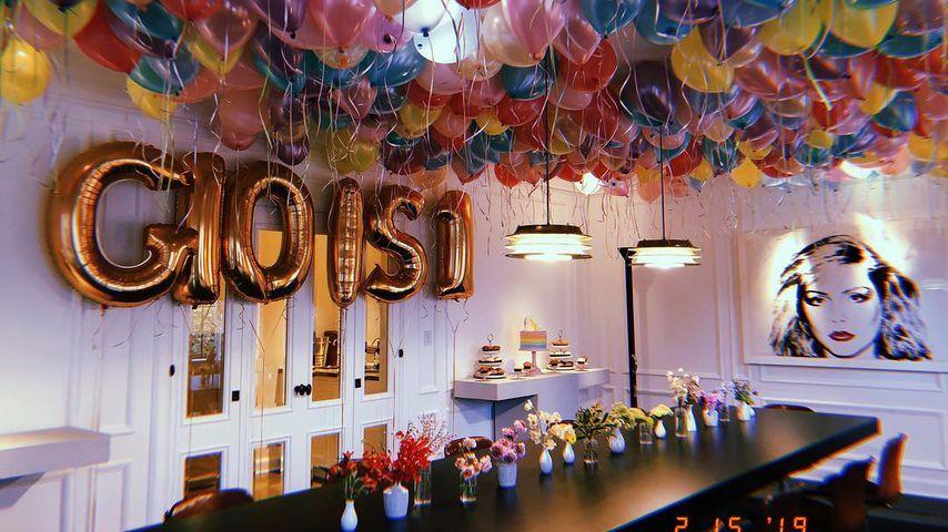 Die erste Geburtstagsparty der kleinen Gio Grace Levine
