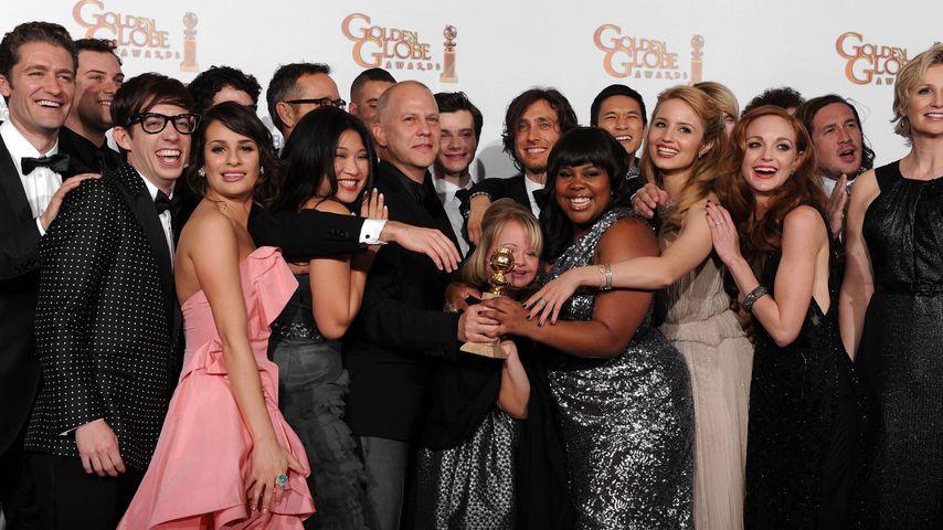 """Die """"Glee""""-Besetzung bei der 68. Verleihung der Golden Globes"""