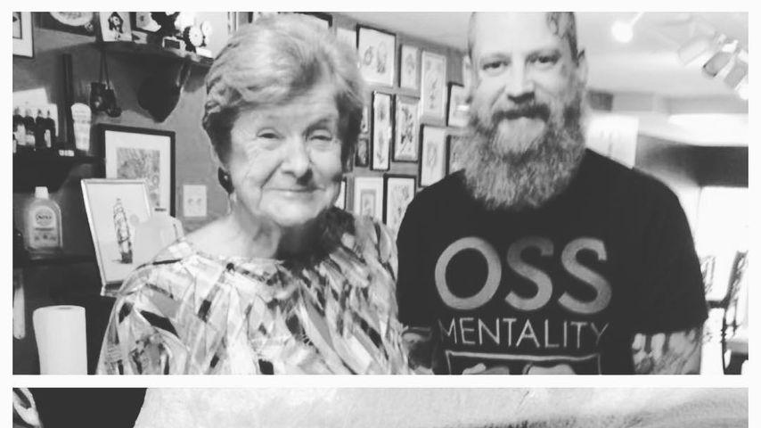 Mit 82 Jahren! Montana Yorkes Oma hat jetzt ein Tattoo