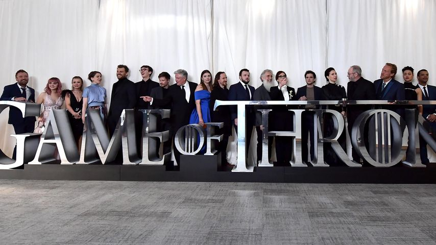 "Die Hauptdarsteller von ""Game of Thrones"" im April 2019"