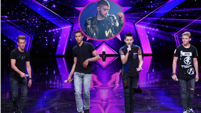 "Schnuckelige ""Supertalent""-Boys machen Zayn Malik Konkurrenz"