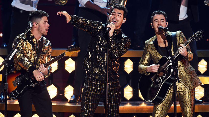 Die Jonas Brothers bei der Show der 62. Annual Grammy Awards im Januar 2020 in Los Angeles