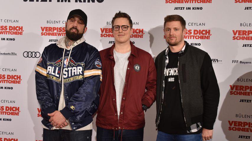 Die Bullshit TV-Mitglieder Chris, Phil und C-Bas