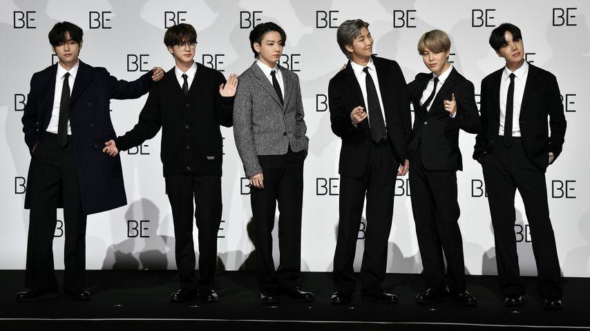Die K-Pop-Band BTS 2020