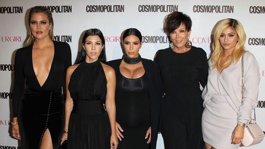 Khloe Kardashian, Kylie Jenner, Kim Kardashian, Kourtney Kardashian und Kris Jenner