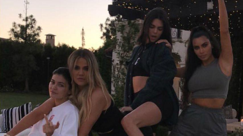 Kylie Jenner, Khloe Kardashian, Kendall Jenner und Kim Kardashian