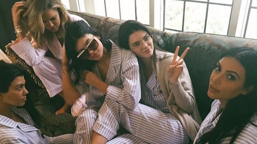 Khloe Kardashian, Kourtney Kardashian, Kylie Jenner, Kendall Jenner und Kim Kardashian