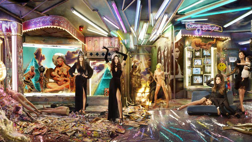 Huch! DAS ist die Weihnachts-Karte der Kardashians
