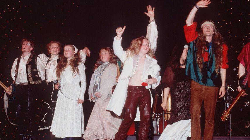 Die Kelly Family bei der Löwenverleihung 1994