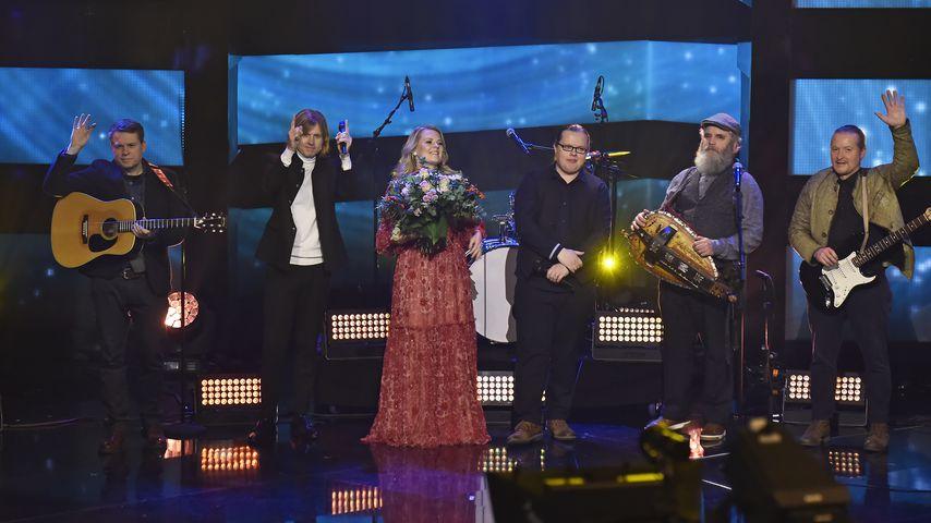 """Die Kelly Family bei der Show """"Menschen 2019 – der ZDF Jahresrückblick"""" in Hamburg im Dezember 2019"""