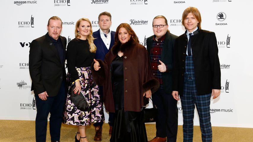 Die Kelly Family bei der ECHO-Verleihung 2018 in Berlin