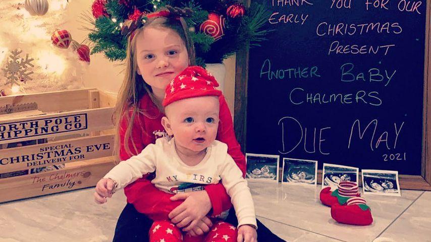 Die Kinder von Aaron Chalmers und Talia Oatway