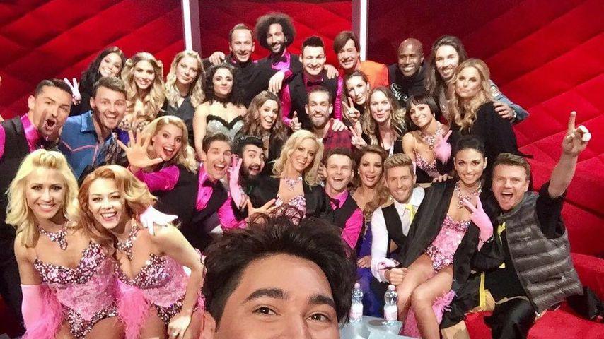 """Die """"Let's Dance""""-Kandidaten 2017 mit ihren Tanzpartnern"""