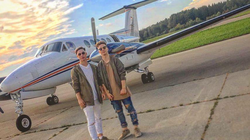 Mega-Fame: Die Lochis fliegen schon Privatjet