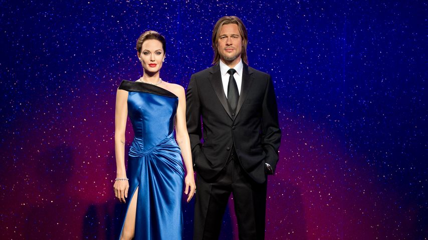 Brangelina-Wachsfiguren in London