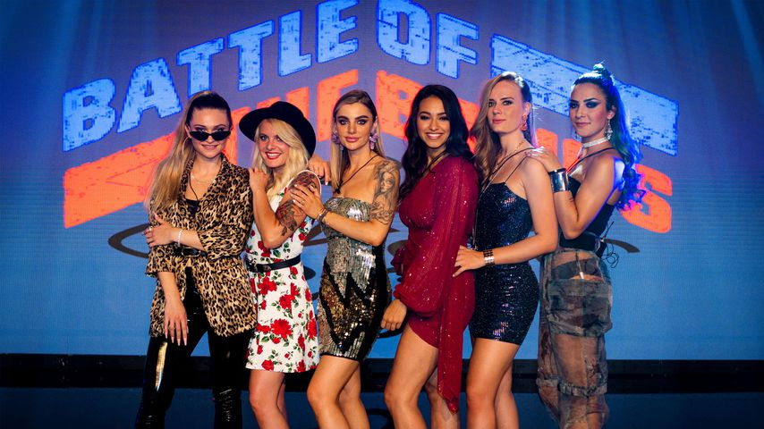 "Die Mädels bei ""Battle of the Bands"""