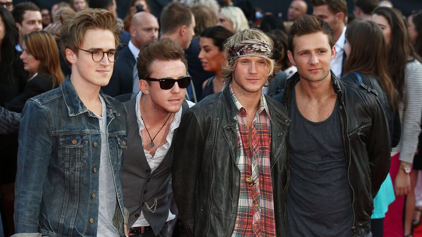 "McFly bei der ""One Direction: This Is Us""-Premiere in London"