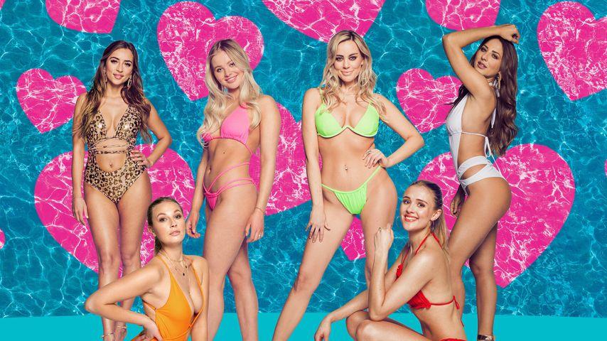"""Die neuen """"Love Island""""-Kandidatinnen Bianca, Kathi, Emilia, Nicole, Greta und Livia"""