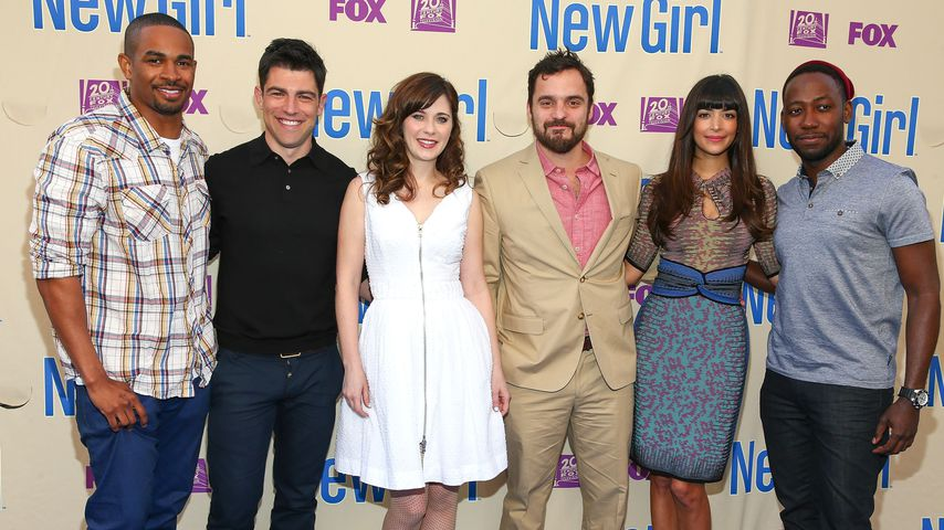 "Der ""New Girl""-Cast"