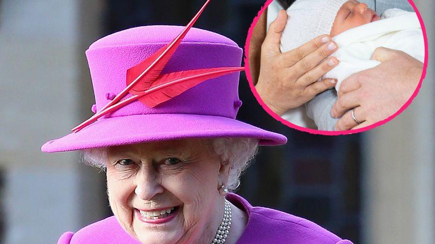 Wie bei Prinz Louis: Die Queen soll bei Archies Taufe fehlen