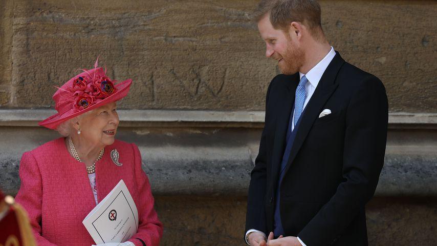 Wegen Memoiren: Darf Prinz Harry die Queen nicht besuchen?