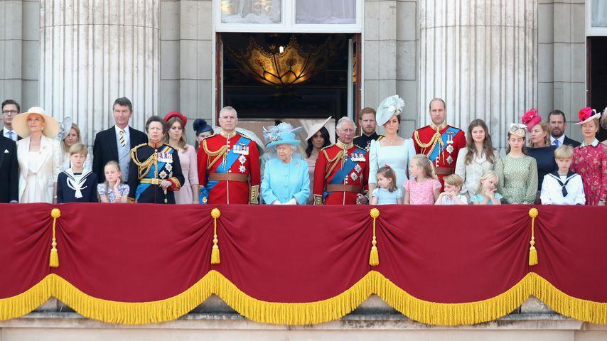 Die britische Royal Family 2018