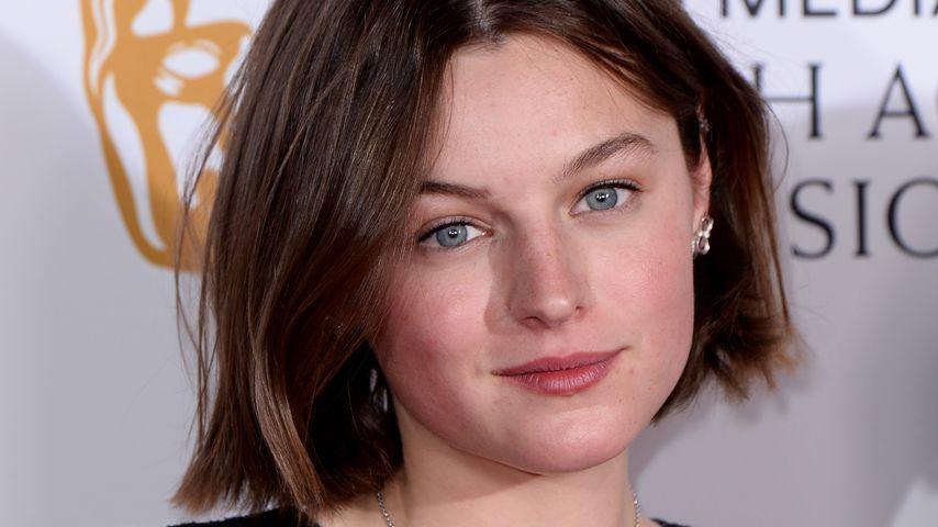 Die Schauspielerin Emma Corrin