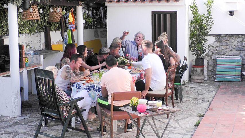 Die Sommerhaus-Stars beim Kennenlern-Essen