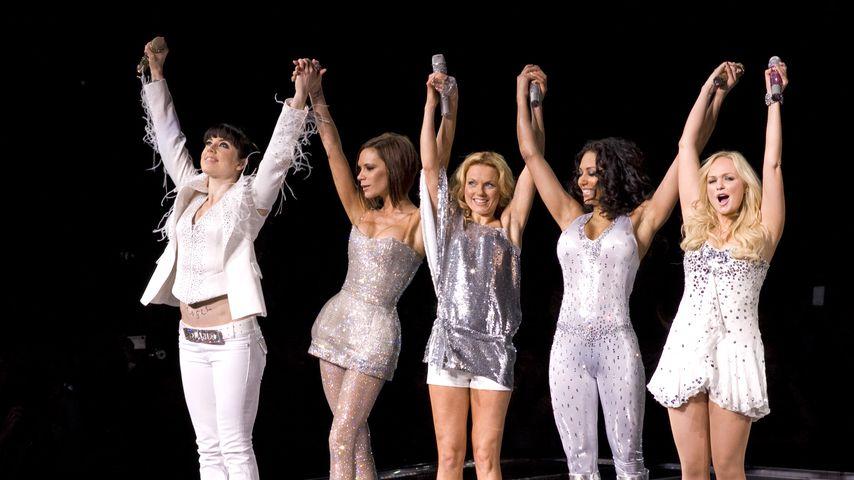 Die Spice Girls 2008 bei einem ausverkauften Konzert im Madison Square Garden