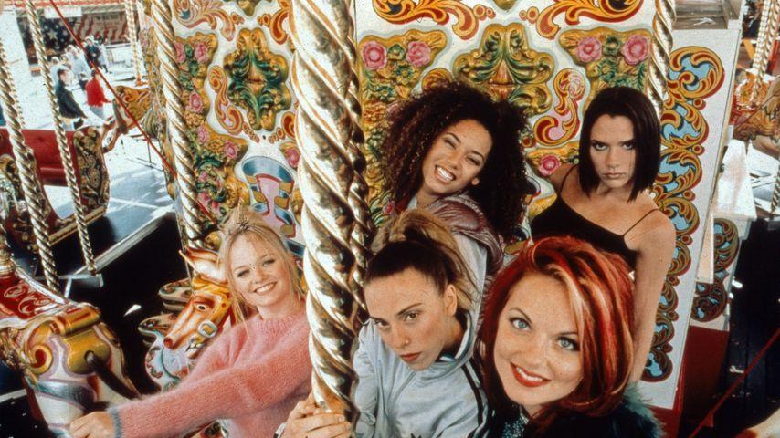 Die Spice Girls in den Neunzigern