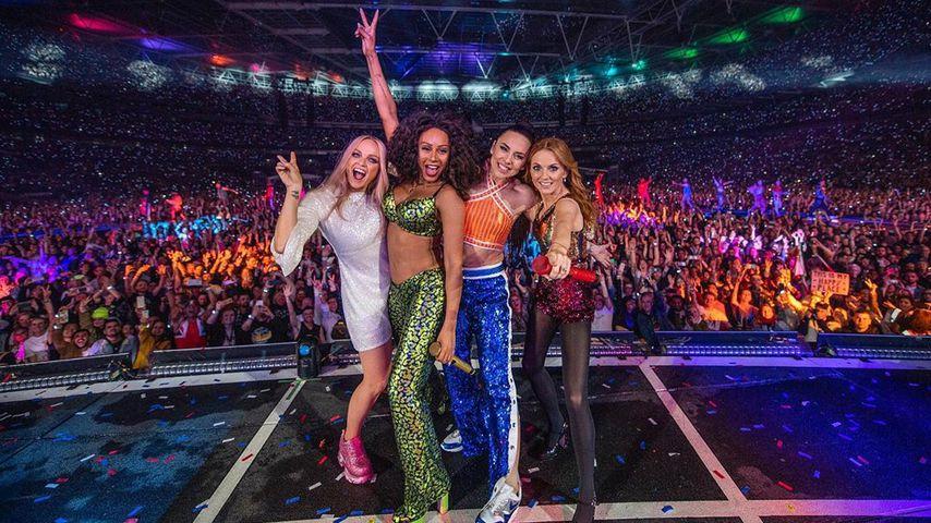 Die Spice Girls bei ihrer Reunion-Tour 2019