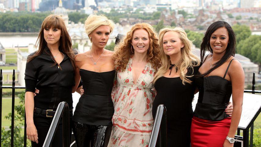 Die Spice Girls im Jahr 2007