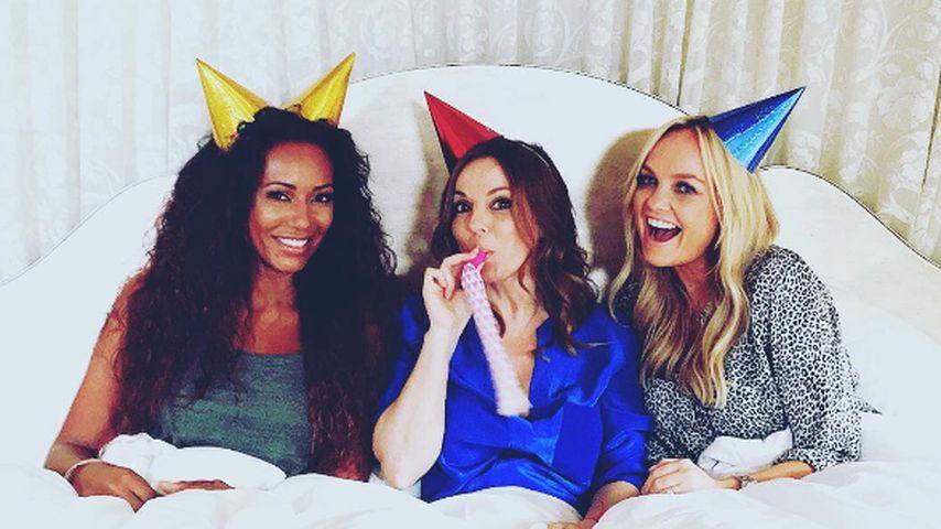 Die Spice Girls: Mel B., Geri Halliwell und Emma Bunton