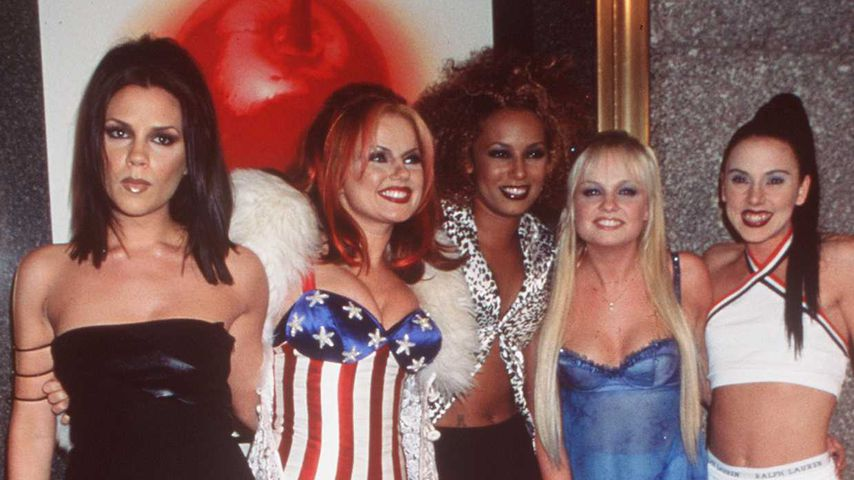 Die Spice Girls bei den MTV Video Awards 1997