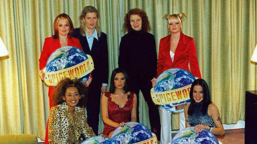 Die Mitglieder der Band Spice Girls