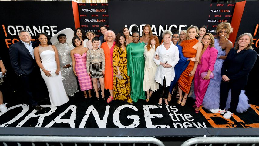 "Die Stars von ""Orange Is The New Black"" bei der Premiere der letzten Staffel"
