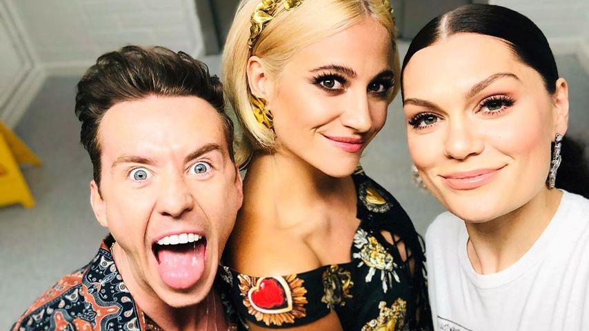 """Die """"The Voice Kids"""" Juroren Danny Jones, Pixie Lott und Jessie J im Mai 2019"""