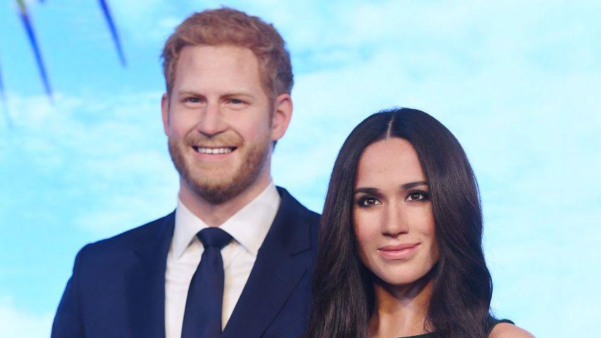 Harry und Meghans Wachsfiguren bei Madame Tussauds schon weg