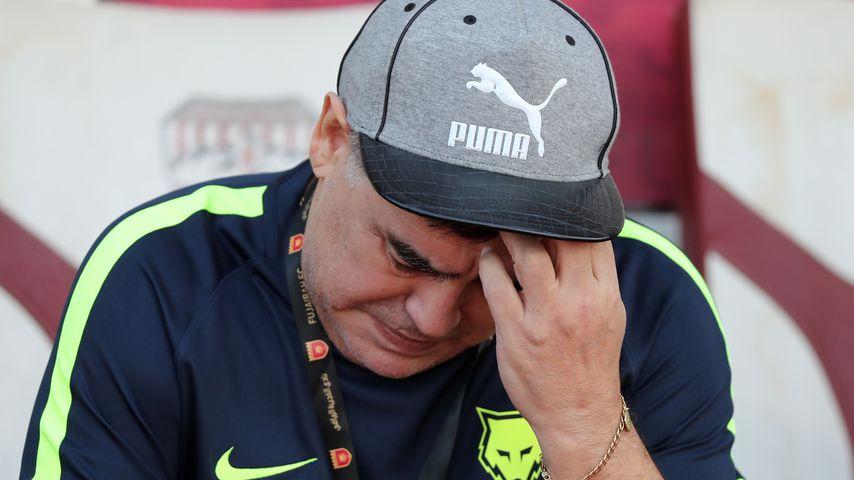 Diego Maradona, ehemaliger Star der argentinischen Nationalmannschaft