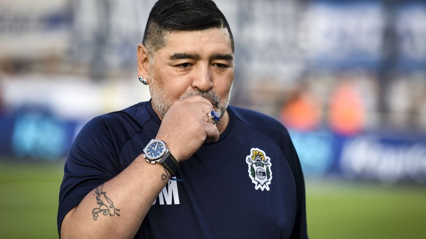 Diego Maradona in La Plata, Argentinien im Jahr 2020