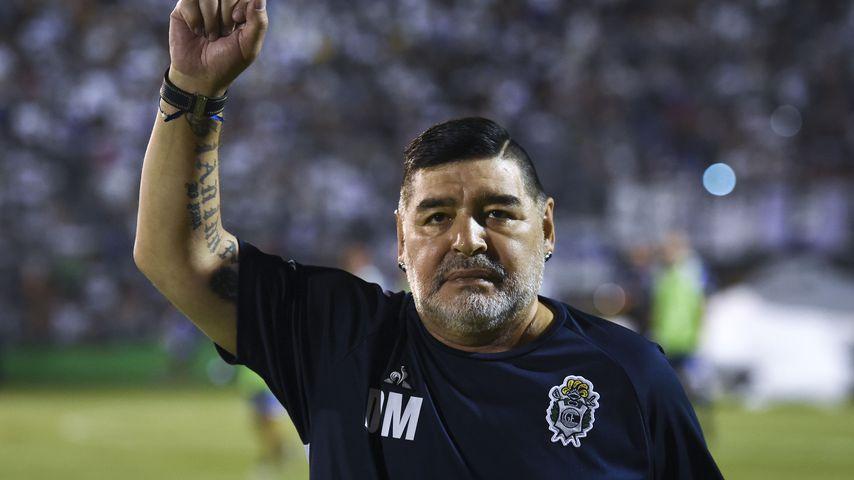 Diego Maradona, argentinische Fußballlegende