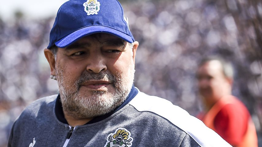 Diego Maradona im September 2019