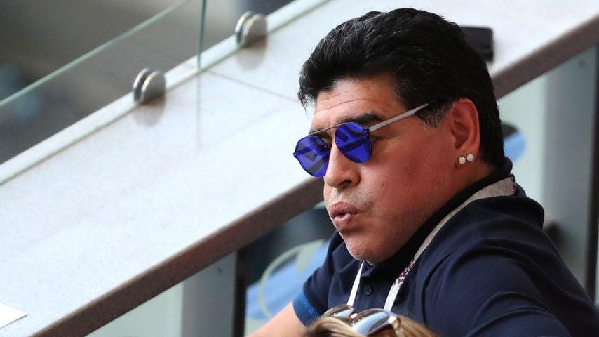 Diego Maradona bei WM: Pro Auftritt kassiert er 11.000 Euro