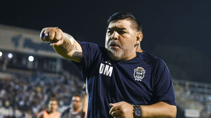 Diego Maradona im Januar 2020