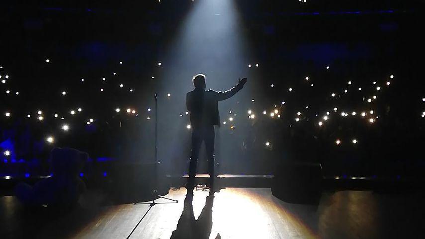 Dieter Bohlen bei seinem Konzert in Moskau