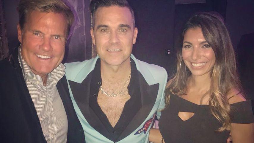 Dieter Bohlen, Robbie Williams und Carina Walz