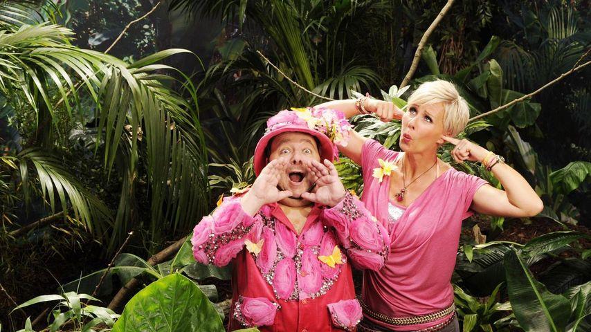Dirk Bach und Sonja Zietlow im Dschungel