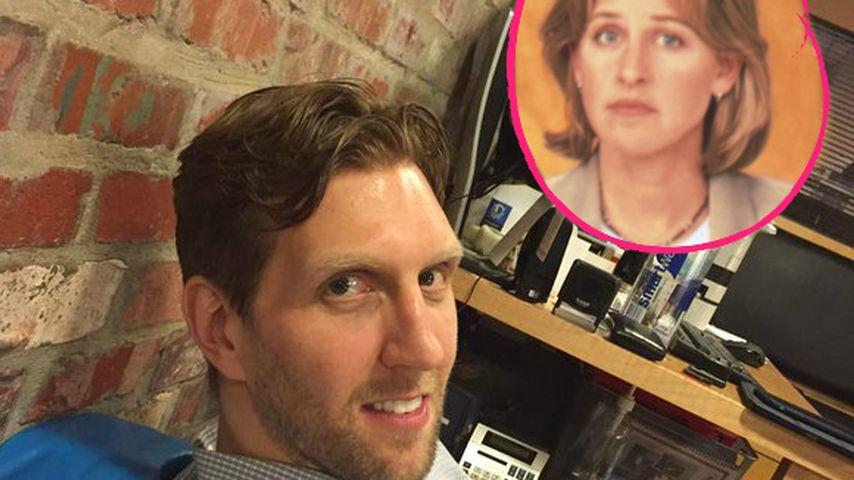 Dirk Nowitzki & Ellen DeGeneres: Haarscharfe Zwillinge