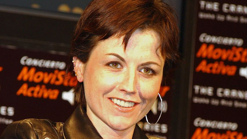 Dolores O'Riordan im November 2001