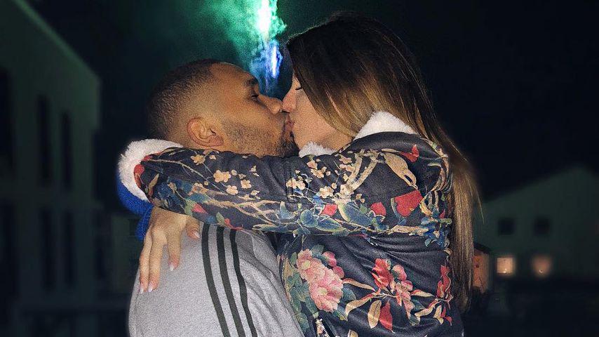 Couple-Goals: Sarah & Domi Harrison knutschen sich in 2018